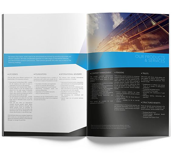 STM Group - Company brochure download